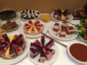 Abschlussbuffet Kuchen